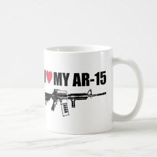 I <3 My AR-15 Basic White Mug
