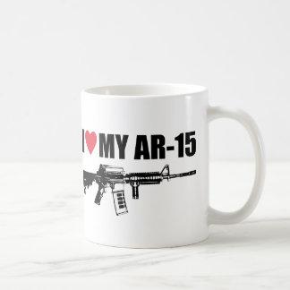 I <3 My AR-15 Classic White Coffee Mug