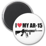 I <3 My AR-15 Fridge Magnet
