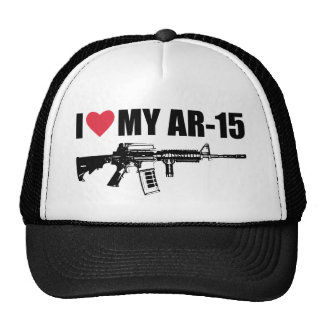 I <3 My AR-15 Mesh Hat