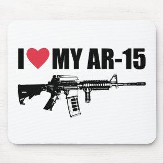 I <3 My AR-15 Mouse Pad