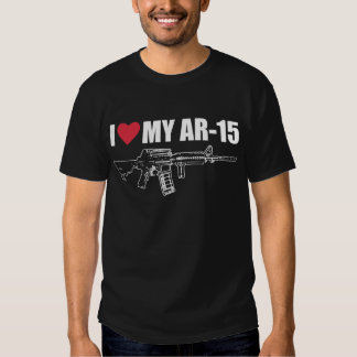 I <3 My AR-15 Shirts