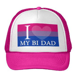 I <3 My Bi Dad Cap
