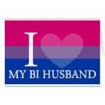 I <3 My Bi Husband Cards