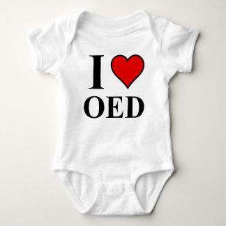 I <3 OED BABY BODYSUIT
