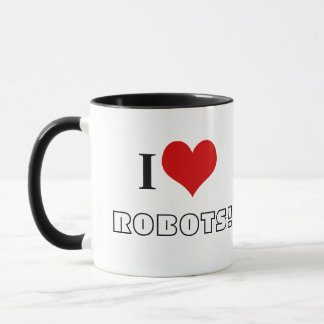 I <3 ROBOTS! MUG