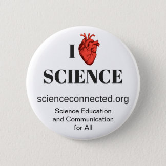 I <3 Science Button