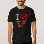 I <3 SF TEE SHIRTS