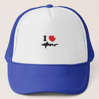 I <3 Sharks Trucker Hat