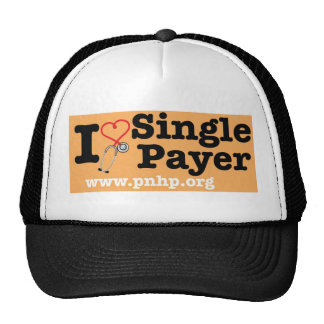 I <3 Single Payer Hat