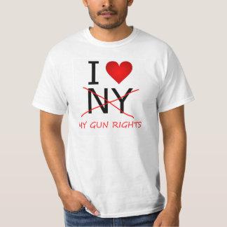 I <3 <strike>NY</strike> My GUN Rights T-Shirt