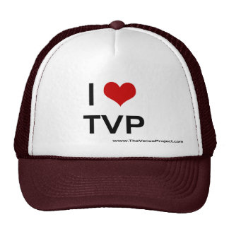 I <3 TVP TRUCKER HAT