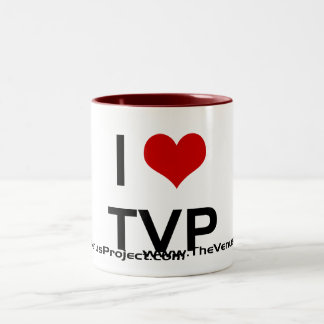 I <3 TVP Two-Tone MUG
