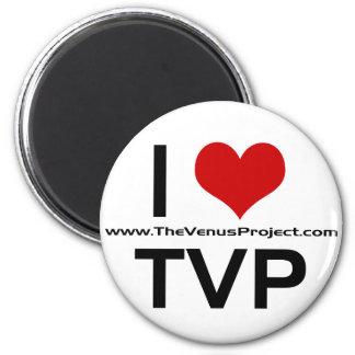 I 3 TVP REFRIGERATOR MAGNETS