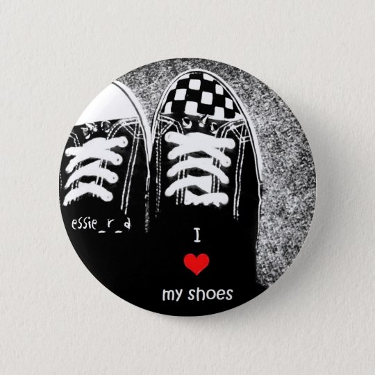 i<3myshoes by essie_r_a 6 cm round badge