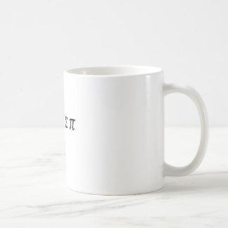 I 8 Sum Pi Classic White Coffee Mug