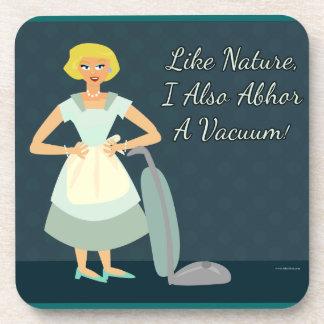 I abhor a Vacuum Drink Coasters