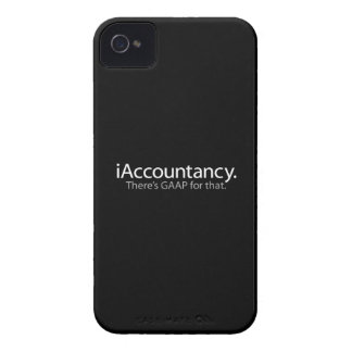 i Accountancy - There's GAAP For That iPhone 4 Case