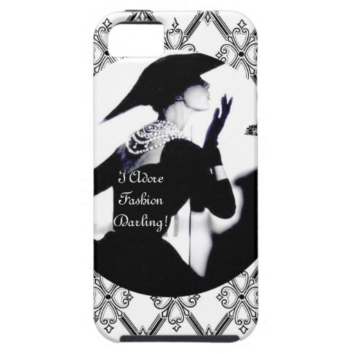 I Adore Fashion, Darling! iPhone 5 Cover