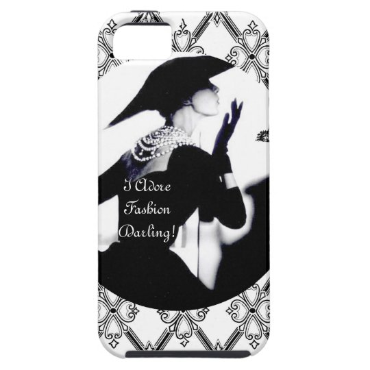 I Adore Fashion, Darling! iPhone 5 Case