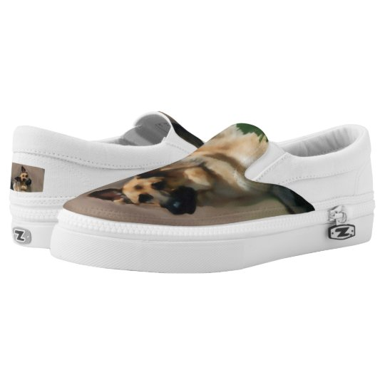 I Adore German Shepherds Slip-on Shoes