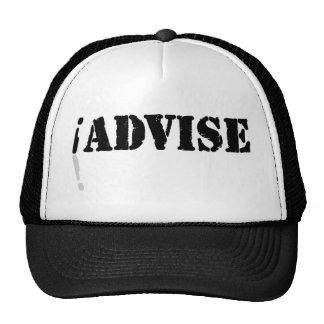 I Advise Hats