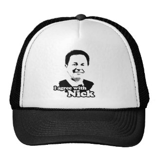 I agree with Nick Mesh Hats