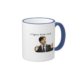 I Agree With Nick Coffee Mug