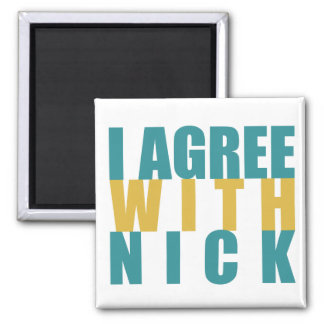 I agree with Nick Square Magnet