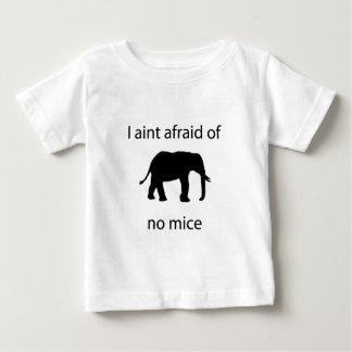 I aint afraid of mice baby T-Shirt