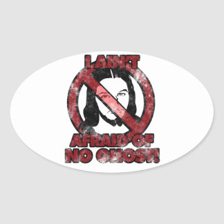 I Ain't Afraid Stickers
