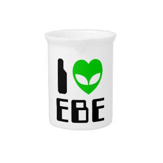 I Alien Heart EBE Pitcher