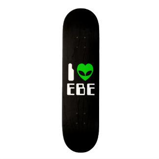 I Alien Heart EBE Skate Decks