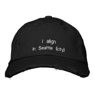 i align hat + your city embroidered baseball caps