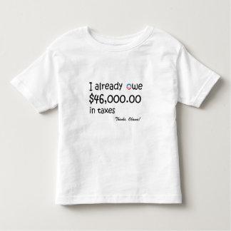 I already owe $46k in taxes t shirts
