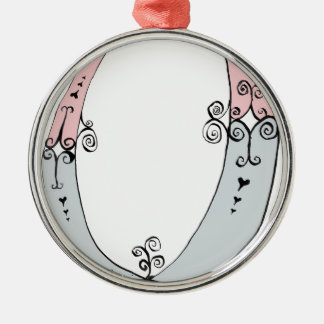I Am 0yrs Old from tony fernandes design Silver-Colored Round Decoration