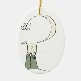 I Am 2 yrs Old from tony fernandes design Ceramic Oval Decoration