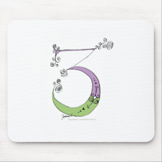 I Am 3 yrs Old from tony fernandes design Mouse Pad