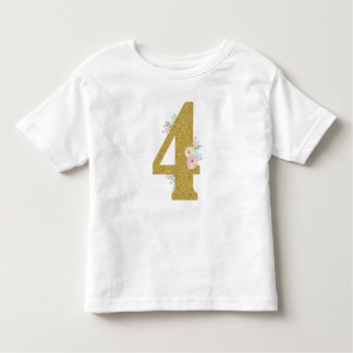 I am 4 girls t-shirt