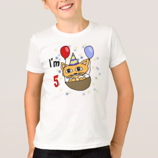 I am 5 anniversary T-Shirt