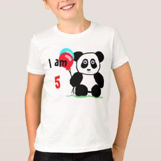 I am 5 anniversary tee shirts