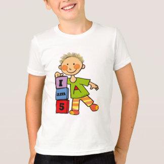 I am 5 t-shirts