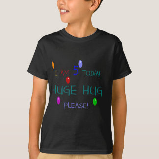 I Am 5 Today T-Shirt