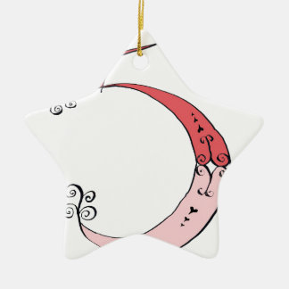 I Am 5 yrs Old from tony fernandes design Ceramic Star Decoration