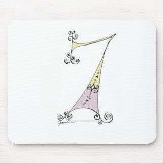 I Am 7 yrs Old from tony fernandes design Mouse Mat