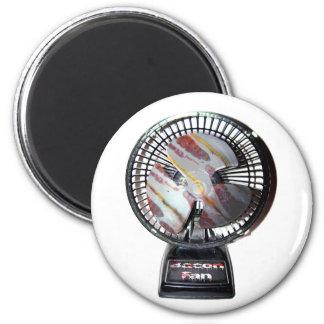 I Am A Bacon Fan 6 Cm Round Magnet