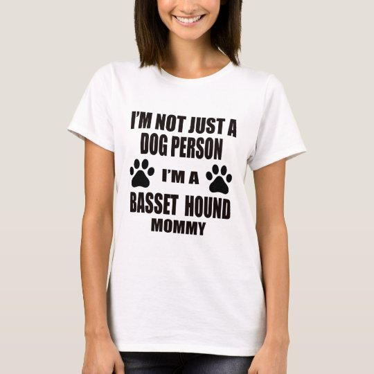 I am a Basset Hound Mummy T-Shirt