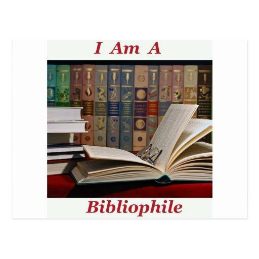 I am a Bibliophile Post Card