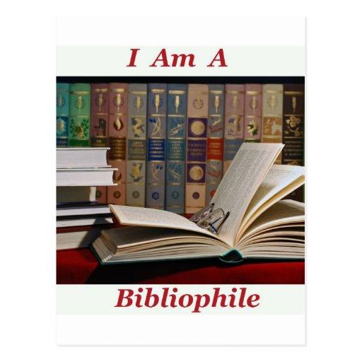 I am a Bibliophile Postcards