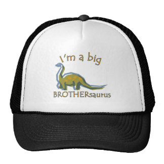 I am a big brothersaurus solo trucker hat